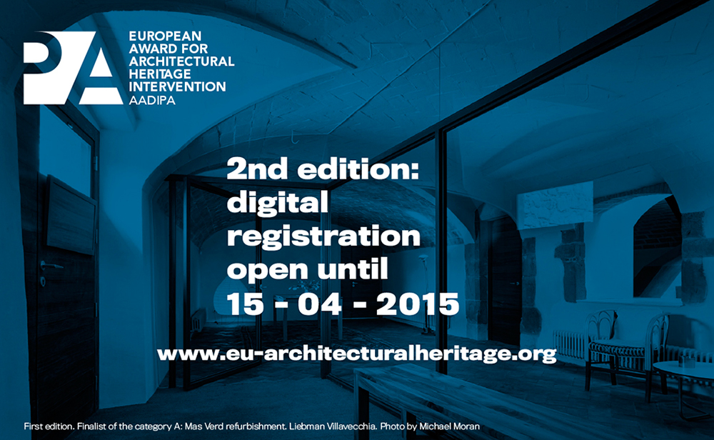 Call: European Award for Architectural Heritage intervention ...